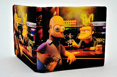 The Simpsons/Homer & Moe PU leather Wallet (TSWL1)