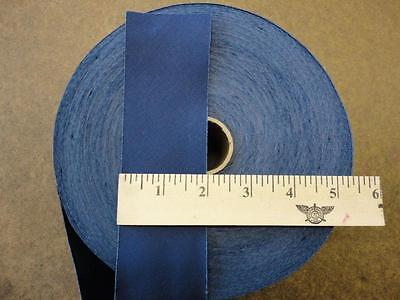 "Wholesale Bias Tape, NAVY color  2"" wide poly cotton twill 100 yds quilt hem"
