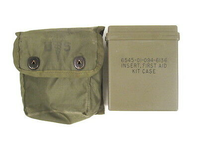 post-Vietnam US Army Individual First Aid Kit w/Insert and Carry Case