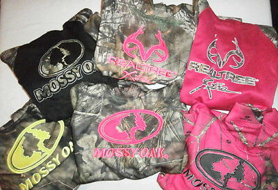 Mossy Oak & Realtree Youth Camo Hoodies Sweatshirt Boy & Girl Hunting You Choose