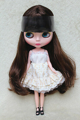 """Takara 12"""" Neo Blythe Doll from Factory Nude Doll Brown long hair SD09 for DIY"""