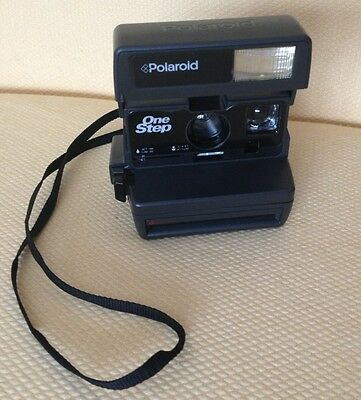Polaroid One Step Flash 600 Instant Camera- Comes with Strap