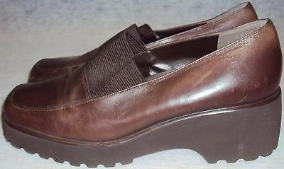 BANDOLINO, LADIES BROWN LEATHER , SLIPPER, SIZE 9 M