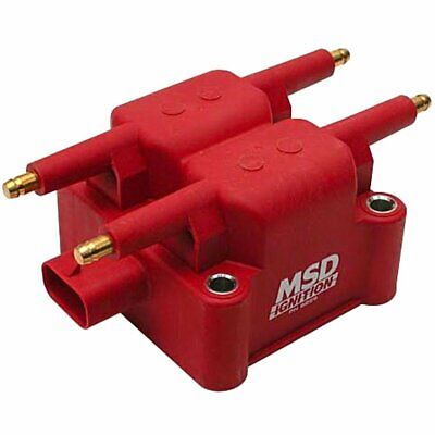 MSD 8239 Ignition Coil DIS Performance Replacement Square Epoxy Red 36000 V Ea