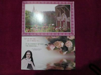 St.Therese of the Child Jesus Sayings of St.Therese Garden Free Shipping!