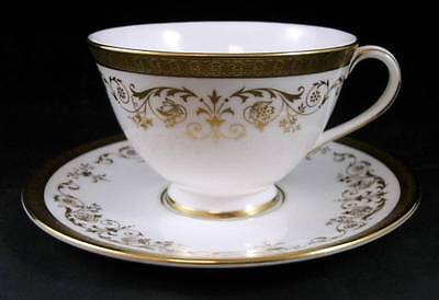 Royal Doulton BELMONT Footed Cup & Saucer H4991 SHOWROOM INVENTORY