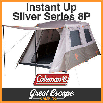 Coleman Instant Up 8 Person Tent FULL FLY 8P NEW MODEL 2016-17