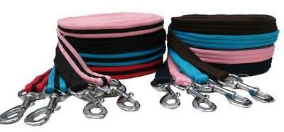 Equidor Padded Horse Lunge Line 8 Metres With Loop Handle