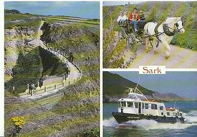 Channel Islands Postcard - Views of Sark   AB1221