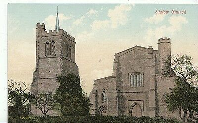 Bedfordshire Postcard - Elstow Church   912