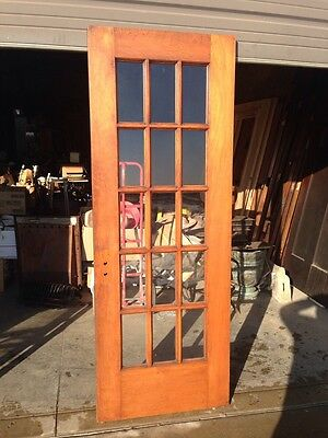 D 23 Antique Birch Or Cherry 15 Light Entrance Door