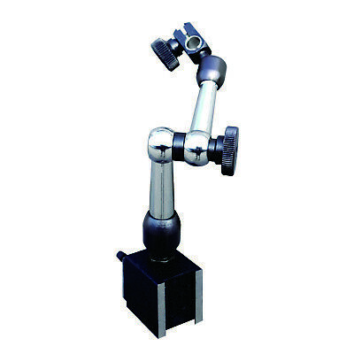 """3D Mini Magnetic Base Holder 50 lbs. Pull 9"""" Reach for Dial & Test Indicators"""