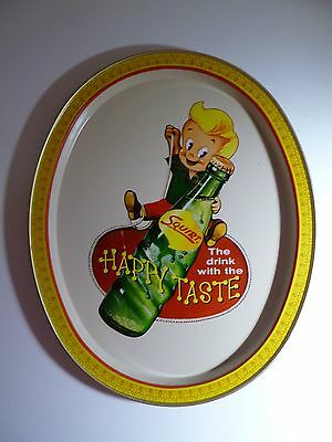 Squirt Soda Pop Metal Tray The Drink With The Happy Taste Vintage