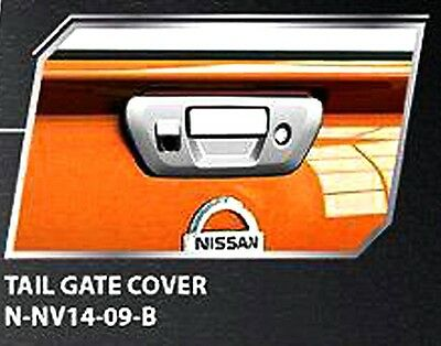 Chrome Tailgate Handle Bowl Cover Camera For New Nissan Navara Np300 2015 Truck