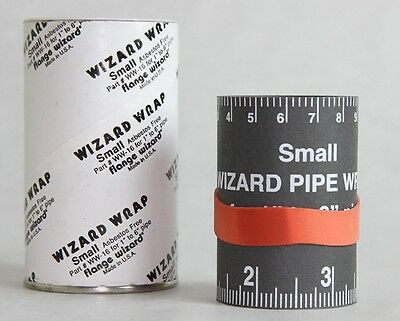 "Flange Wizard 496-WW-16 Wizard Wraps Small 1"" to 6"" Pipe"
