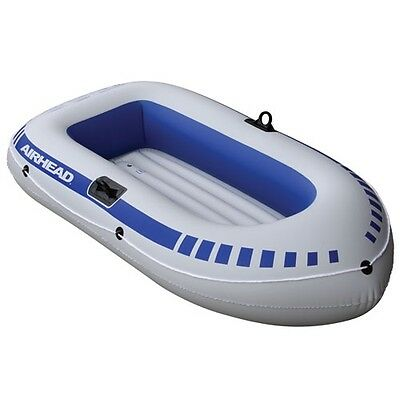 Airhead Inflatable BOAT Portable Lightweight Water Tube 2 Person Fishing AHIB-2