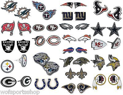 NFL Stud Earrings Official Licensed  - We Carry All Teams NWT
