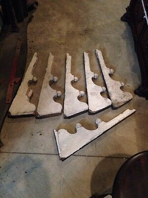 Six Matching Corbels Antique