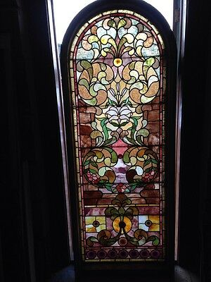 Sg 89 Antique Rudy  Brothers Landing Window With Jewels