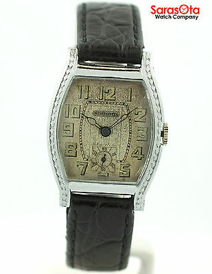 Vintage Westpointer Swiss Hand-Winding 6 Jewels Stainless Steel Wrist Watch