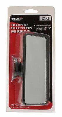 Large Rear View Mirror Interior Car Adjustable Suction Adhesive Universal