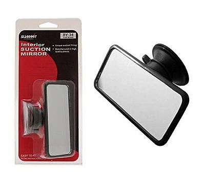 Universal Rear View Mirror Interior Car Adjustable Suction Adhesive Windscreen