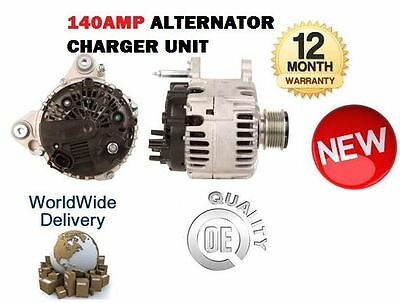 For Mitsubishi Outlander Ii  2.0 Did 2007-2012 140Amp Alternator Charger Unit