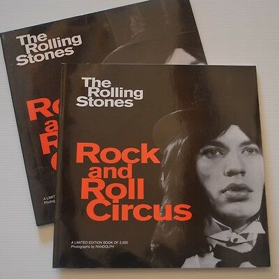 Rolling Stones - Rock And Roll Circus - Uk  Book 1995 Press