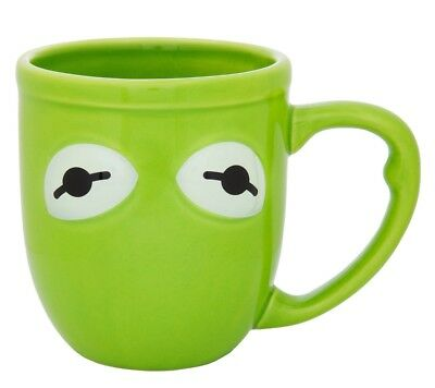 disney parks the muppets kermit the frog ceramic coffee mug new