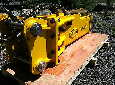 SP-750 Hydraulic Rock Breaker suit 6 - 9 Ton Excavator & most Backhoes