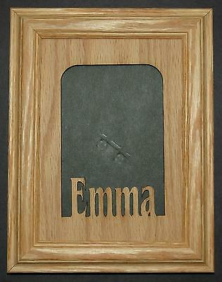 CUSTOM Personalized Wood Name Picture Frame 5x7 - £16.58 | PicClick UK