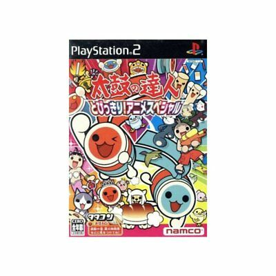 Used PS2 Taiko no Tatsujin Super Animehit Japan Import (Free Shipping)