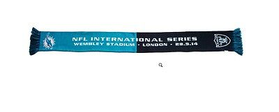 NFL International series wembley 2014 London MIAMI DOLPHINS - RAIDERS    SCARF