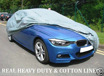 QUALITY WATERPROOF CAR COVER 2007on MERCEDES C-CLASS W204 H-DUTY COTTON LINED-L