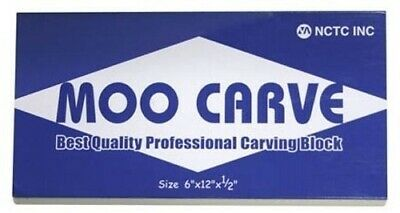 MOO Carve block for printing (linocut) or stamp making - 6in x 12in