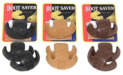 Boot Saver Toe Guards Work Boots Protector - Boot Toe Repair - 3 Colors - 1 Pair