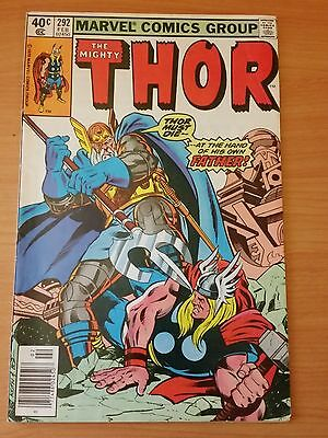 The Mighty Thor #292 ~ VERY FINE VF ~ 1980 MARVEL COMICS