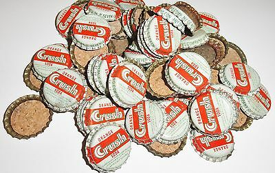 50  Vintage Orange Crush Soda Bottle Caps Unused