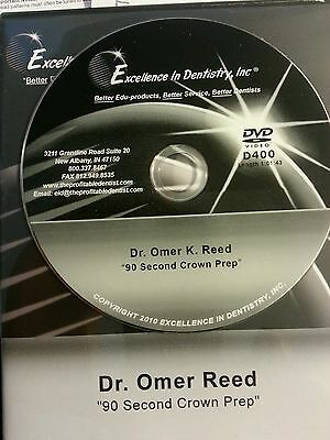 """Dr Omer Reed    """"90 Second Crown Prep"""""""