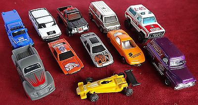 Vintage Bulk Lot #1 Mixed Toy Cars x 11 Various Condition 25