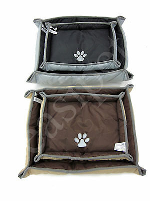 Waterproof Pet Dog Cat Bed Mat Car Seat Protector Pillow Travel Cushion Easipet
