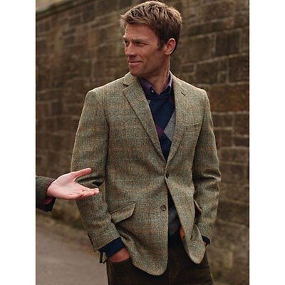 Brook Taverner - Harris Tweed Jacket Fabric Hand Woven In The Outer Hebrides