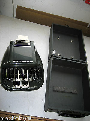 SEE CHOICES BELOW- Vintage Stenograph Court Reporter Shorthand Machine, warranty
