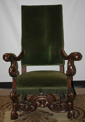 Antique Victorian Walnut Armchair - FREE DELIVERY [PL650]