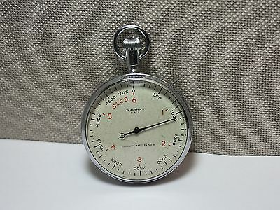 WALTHAM - Militär Stoppuhr aus dem 2WK (WW2). Military pocket stop watch