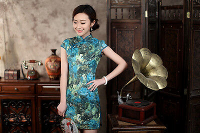 Traditional Chinese CLothing Asian Clothes  Cheongsam  Qipao Dress