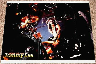 Tommy Lee 1990 Motley Crue Live In Concert Tribute Poster Import