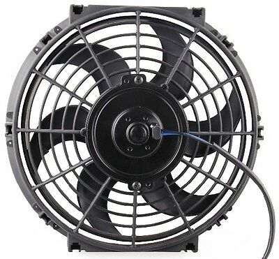10 INCH LOW PROFILE HIGH PERFORMANCE THERMO FAN free shipping f1
