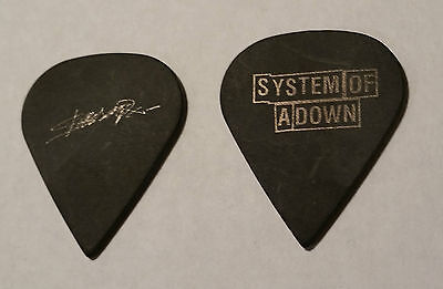 SHAVO from SYSTEM OF A DOWN Guitar Pick RARE Black on Black