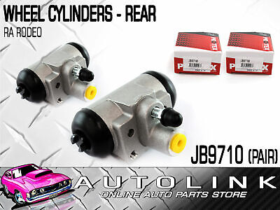 PROTEX REAR WHEEL CYLINDERS SUIT HOLDEN RODEO RA SERIES 4CYL & V6 2003-2008 (x2)